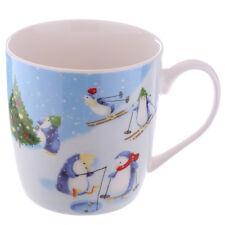 Tasse Weihnachten Pinguine auf Schnee Jan Pashley R2fg