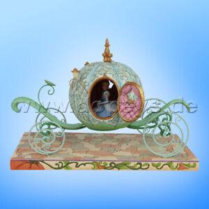 "Disney Traditions ""Enchanted Carriage"" (Kürbiskutsche mit Cinderella) Jim Shore"