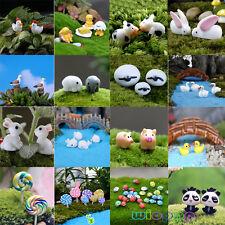 DIY Garden Ornament Mini Figurine Resin Craft Plant Pots Fairy Dollhouse Decor