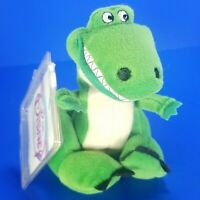 "NWT The Disney Store Toy Story REX the Dinosaur 9"" Mini Bean Bag Plush"