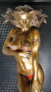 Sexy Girl Hot Women Beautiful Lady Image Babe Hottie Bronze Sculpture Statue