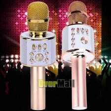 Wireless Ws-858 Karaoke Handheld Usb Microphone Ktv Player Bluetooth Mic Speaker