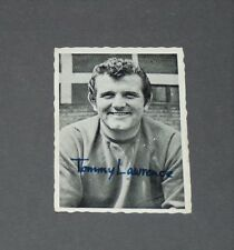 A & BC GUM CARD FOOTBALL ENGLAND 1969 TOMMY LAWRENCE LIVERPOOL REDS ANFIELD ROAD