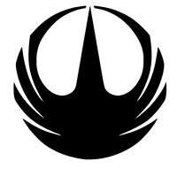 Star Wars Rogue One Symbol vinyl car Decal / Sticker