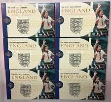 72 Packs x England Upper Deck Company Collectible Trading Cards 1998