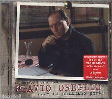 FLAVIO OREGLIO - Il momento e' catartico - DAVIDE VAN DE SFROOS CD SIGILLATO