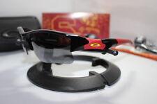 New Oakley USC Trojans Collegiate Flak Jacket 1.0 Sunglasses Black 24-195