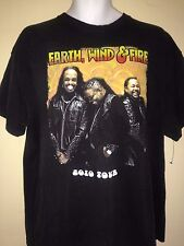 EARTH WIND & FIRE  HOLLYWOOD BOWL 2010 XL T SHIRT R&B  POP OUT OF PRINT