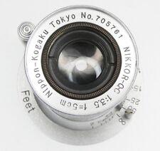 Nikkor Q.C 5cm f3.5 Coll. Leica SM  #705761