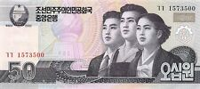 Korea North 50 Won 2002 Unc pn 60