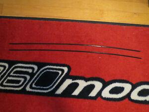 Alfa Romeo GTV-6 FACTORY ENGINE BAY DRIP RAIL CHIP GUARDS body trim Alfetta GT