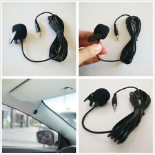 3.5mm Car Stereo External Microphone For Bluetooth Enabled Stereo GPS MP5 Radio