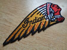 Indian Motorcycle Patch Classic Dealership Badge Factory Vest Shirt Hat Jacket