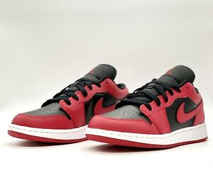Nike Air Jordan 1 Low Reverse Bred Banned GS 553560-60 Size 6.5 y