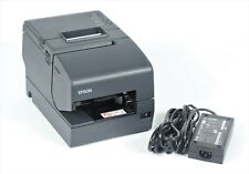 Epson Tm H6000iv Pos Thermal Usb Network Receipt Printer M253a With Power Adapter