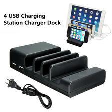 Multi-Port USb Ports 4-Port Usb Hub Charging Dock Station Desktop Charger Stand