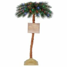 Corona 5'  Commercial Palm Tree LED Pre Lit Artificial Motion Activated Tree