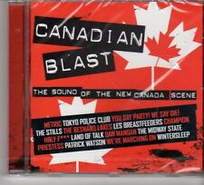 (FP520) Canadian Blast, The Sound Of The New Canada Scene - 2007 sealed NME CD