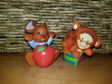 Mattel Winnie the Pooh Little People Baby Roo w/Apple & Tigger Figures Toys