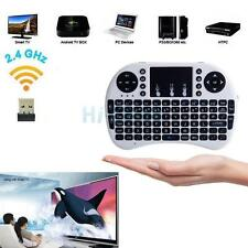 2PCS i8 2.4Ghz Wireless Keyboard Touchpad Remote for PC Smart TV Android Box PS4