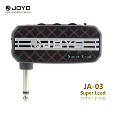 Joyo Ja-03 Super Lead mini amplificador AMP de guitarra Eléctrica negro bolsillo