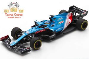 Alpine F1 Team A521 - Fernando Alonso -Bahrain GP 2021 - 1:43 - Spark