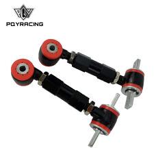 Steel L+R Camber Kit Billet Adjustable Upper Rear For 88-00 Civic 90-01 Integra
