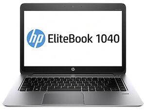 HP EliteBook Folio 1040 G2 14in. (256GB, Intel Core i7 5th Gen., 2.6GHz, 8GB)...