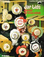 Jar Lids Charted for Cross Stitch | Leisure Arts 211