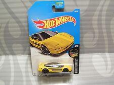 2017 Hot Wheels ''Night Burnerz'' #94 = `90 Acura Nsx = Yellow us