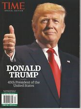 Time Special Edition Donald Trump 45th President Magazine