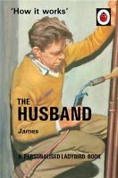 Personalised Ladybird The Husband Book For Grown Ups Hardback Gift For Him