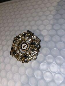 Vintage American Legion Auxilary Rhinestone Pin