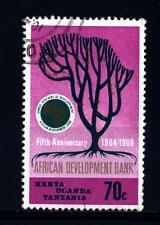 KENYA-UGANDA-TANZANIA - 1969 - 5° anniversario della Banca africana dello svilup