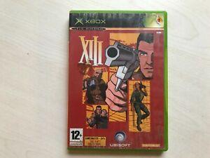XIII (Xbox) Game UK PAL USED
