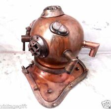 Diving Helmet Vintage U S Navy Mark V Nautical Diver's Choice Maritime Antique