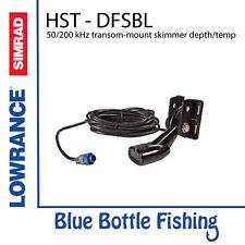 Lowrance / SIMRAD HST - DFSBL 50/200 kHz transom-mount skimmer