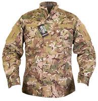 Mens Army Combat Tactical Military Shirt ACU Surplus New Jacket Top Jungle Smock