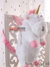 "Despicable Me2 Unicorn Plush Backpack Agnes 22"" XLarge Super Soft Hot Big gift"