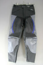 BUFFALO LEATHER BIKER TROUSERS + CE ARMOUR: WAIST 32 INCHES/INSIDE LEG 30 INCHES