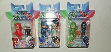New PJ Masks 6 Pack Pce Complete Set Poseable Owlette Catboy Gekko Night Ninja