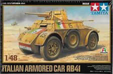 1/48 Tamiya 89778 - Italian WWII Armored Car AB41 Plastic Model Kit