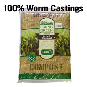 100% Organic Vermicompost - Worm Castings
