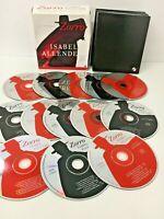 ZORRO Spoken Word Audio CD Set x13 Discs Audio Book Unabridged - Isabel Allende