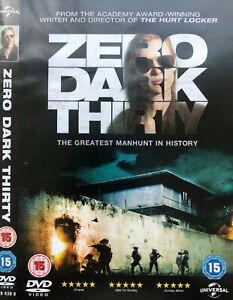 Zero Dark Thirty DVD REG 2 - Thriller History Osama Bin Laden