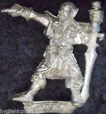 1987 DARK ELF 1102 07 C09 Leader 2 Citadelle elfes armée guerrier WARHAMMER GW drow