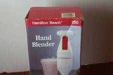 Hamilton Beach #250 Submersible Hand Blender For Soups & Shakes