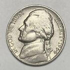1964 D Jefferson Nickel 5¢ Cents Circulated Coin  (3488)