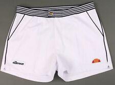 Ellesse Heritage Vilas Renzo Retro White Tennis Shorts 80s Casuals(Fila/Sergio)