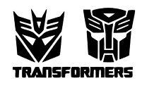 Transformers vinyl car Decal / Sticker